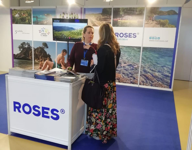 Turisme de Roses promociona la destinació al Saló Aragonès del Turisme (ARATUR)