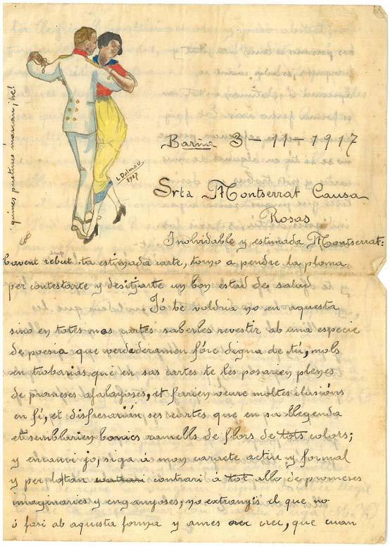 L'Arxiu de Roses presenta els dibuixos de Lluís Dalmau, bomber, delineant i dibuixant