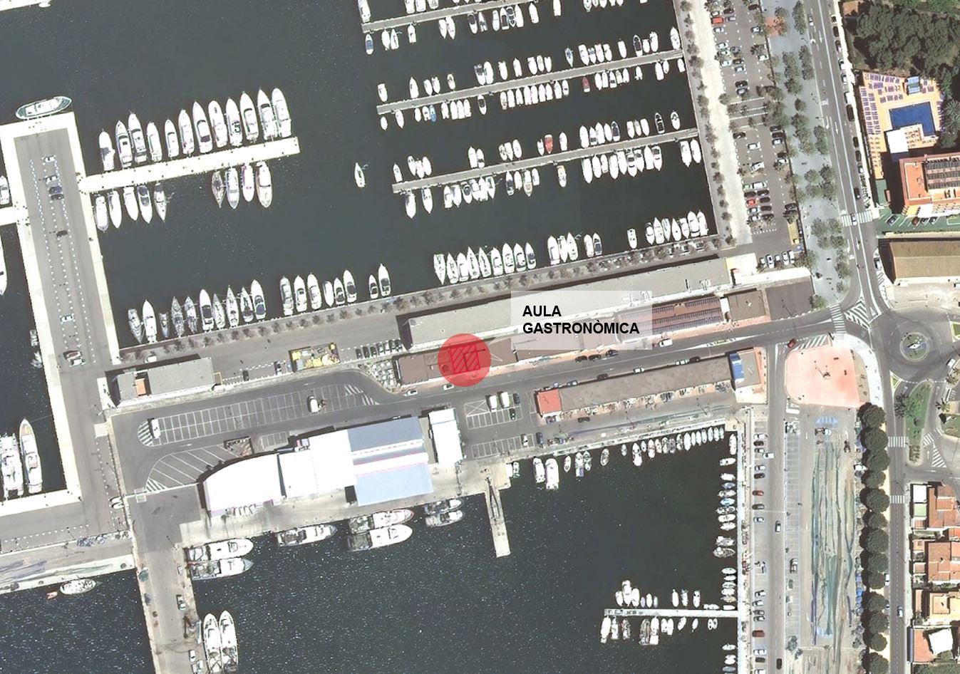 Cessió del local que acollirà l'Aula Gastronòmica al port de Roses