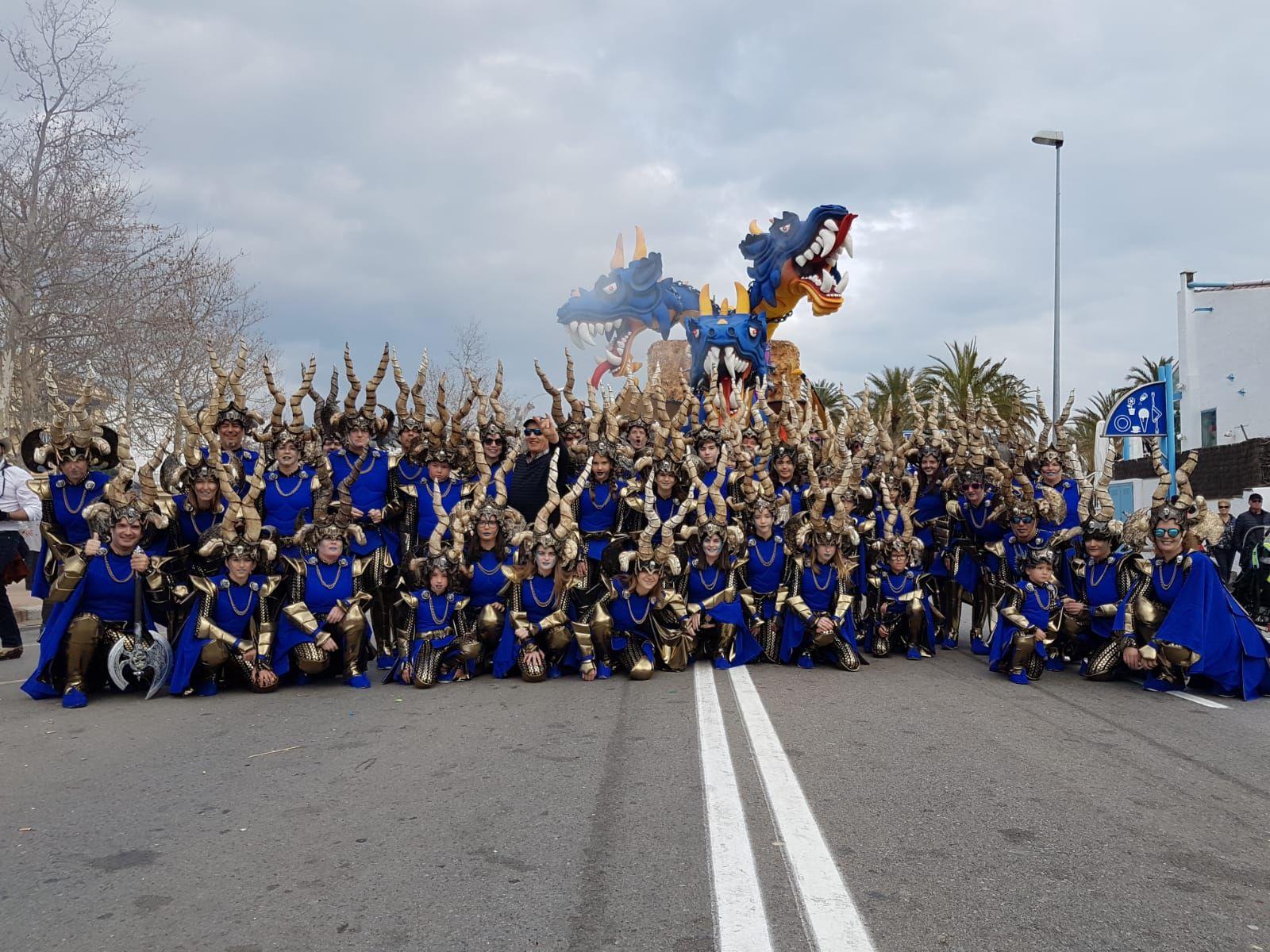 La Colla del Tech aconsegueix el segon premi a la millor carrossa al Carnaval de Platja d'Aro