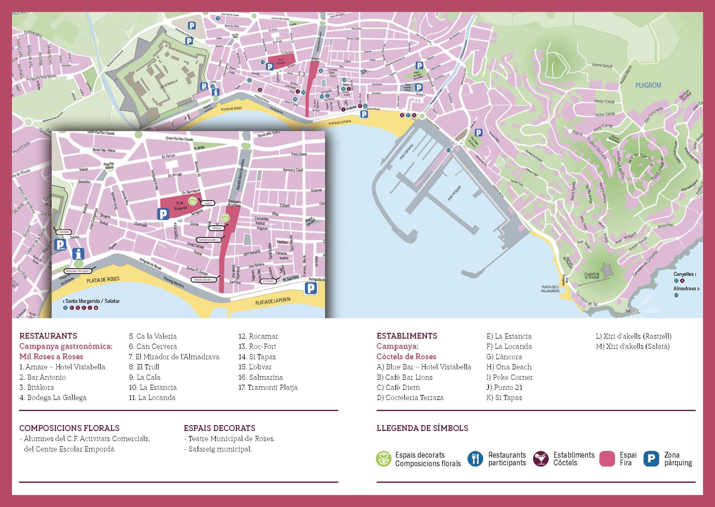 La Fira de la Rosa de Roses concentrarà totes les activitats a la Rambla Ginjolers i el Teatre Municipal