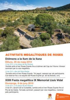 activitats megalítiques a roses