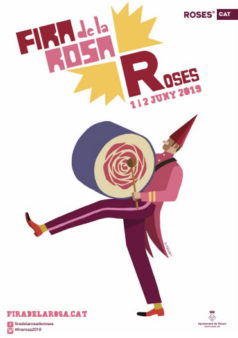 fira de la rosa de roses 2019