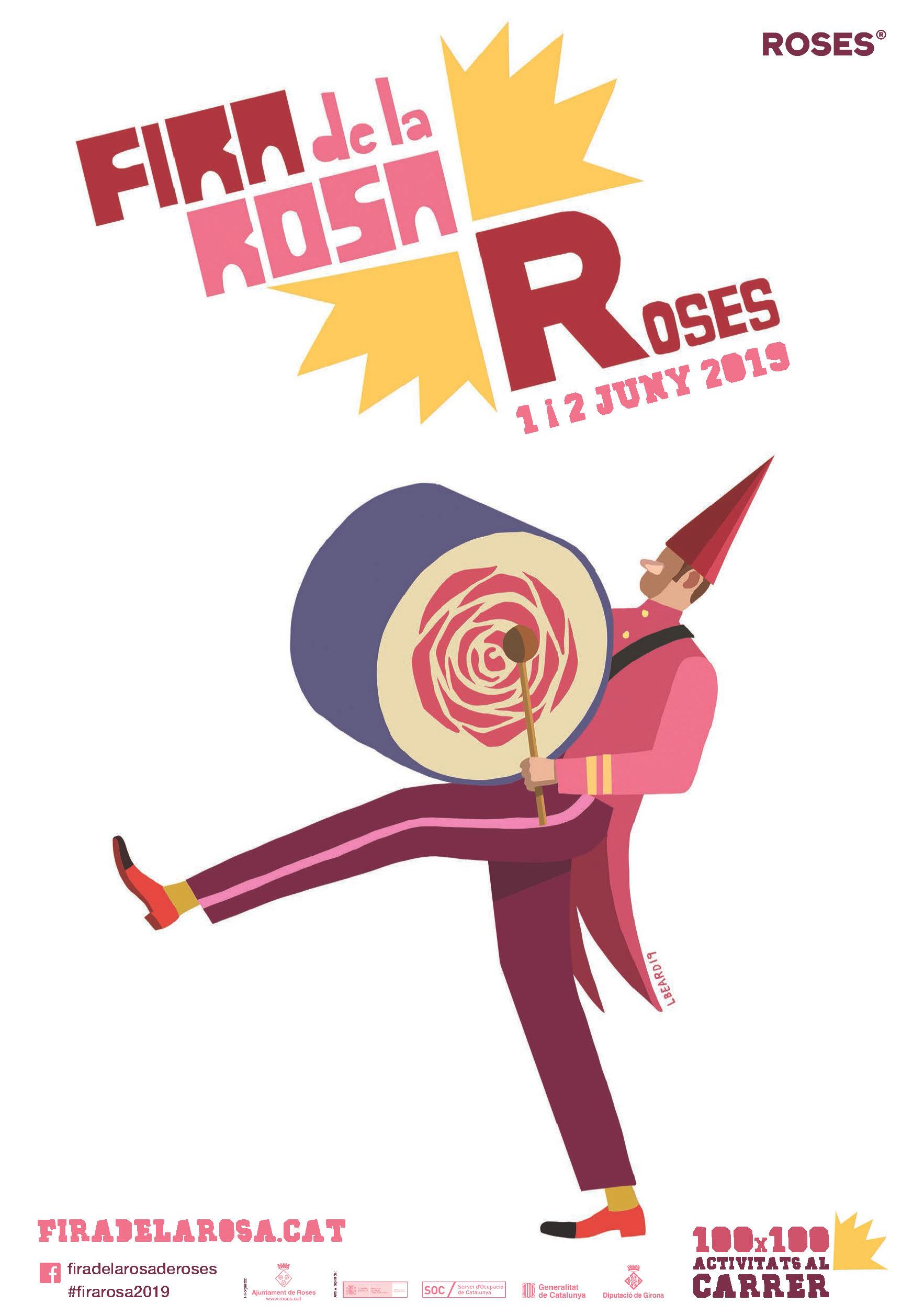 Còctels florals, Menús de les 1000 Roses i Tastets, la gastronomia de la Fira de la Rosa