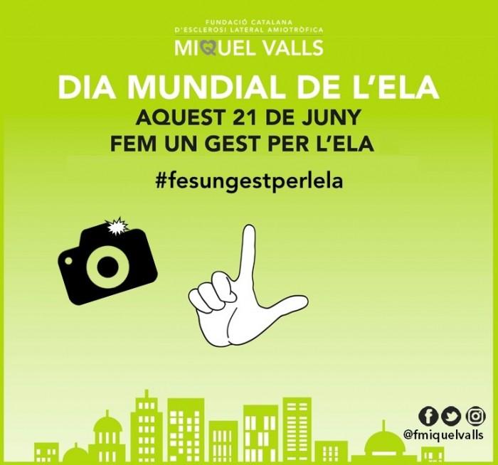 L'Ajuntament s'il·luminarà aquesta nit de verd per l'ELA i anima la població a unir-se a la campanya