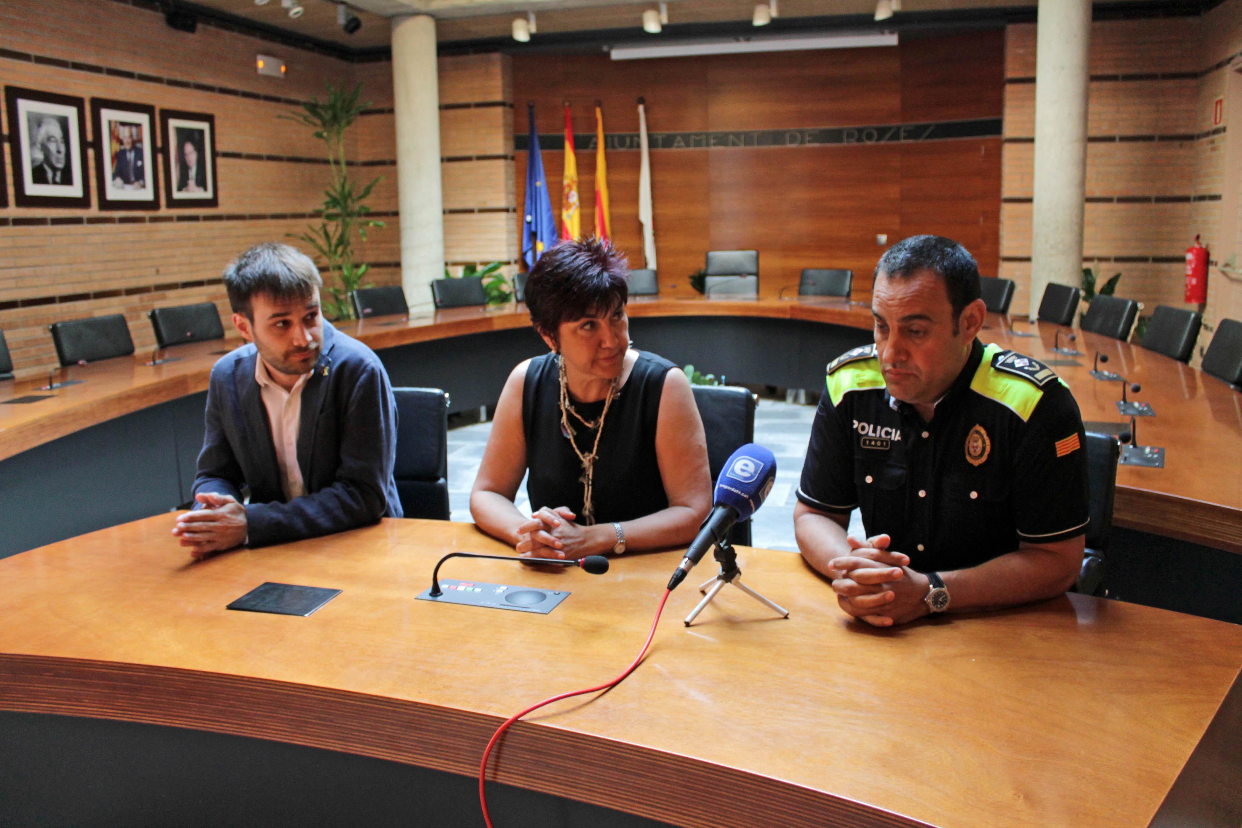 La Policia Local de Roses reforça plantilla i serveis amb 8 agents durant aquest estiu