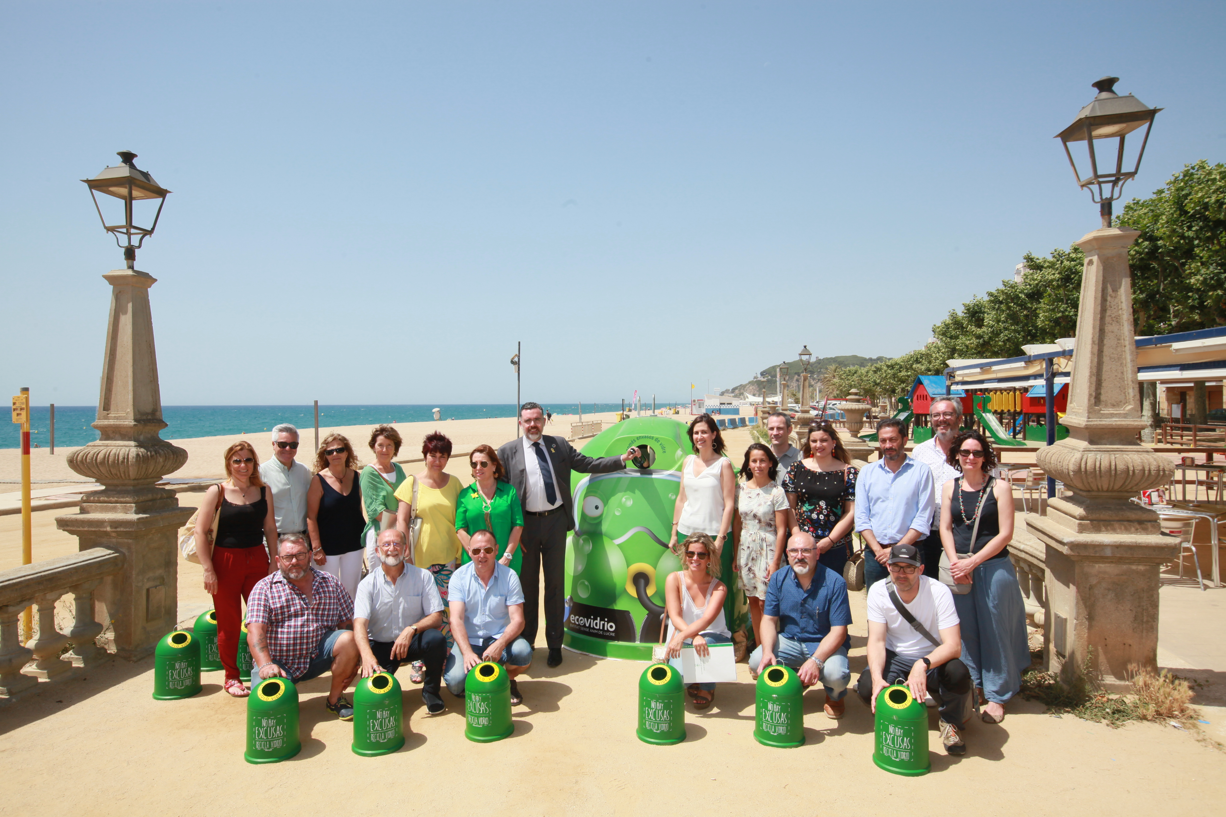 Roses s'adhereix al Moviment Banderes Verdes per millorar el reciclatge d'envasos de vidre