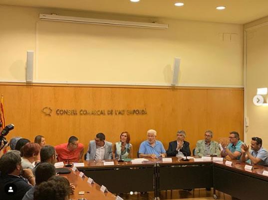 Sònia Martínez serà a partir d'avui la presidenta del Consell Comarcal de L'Alt Empordà