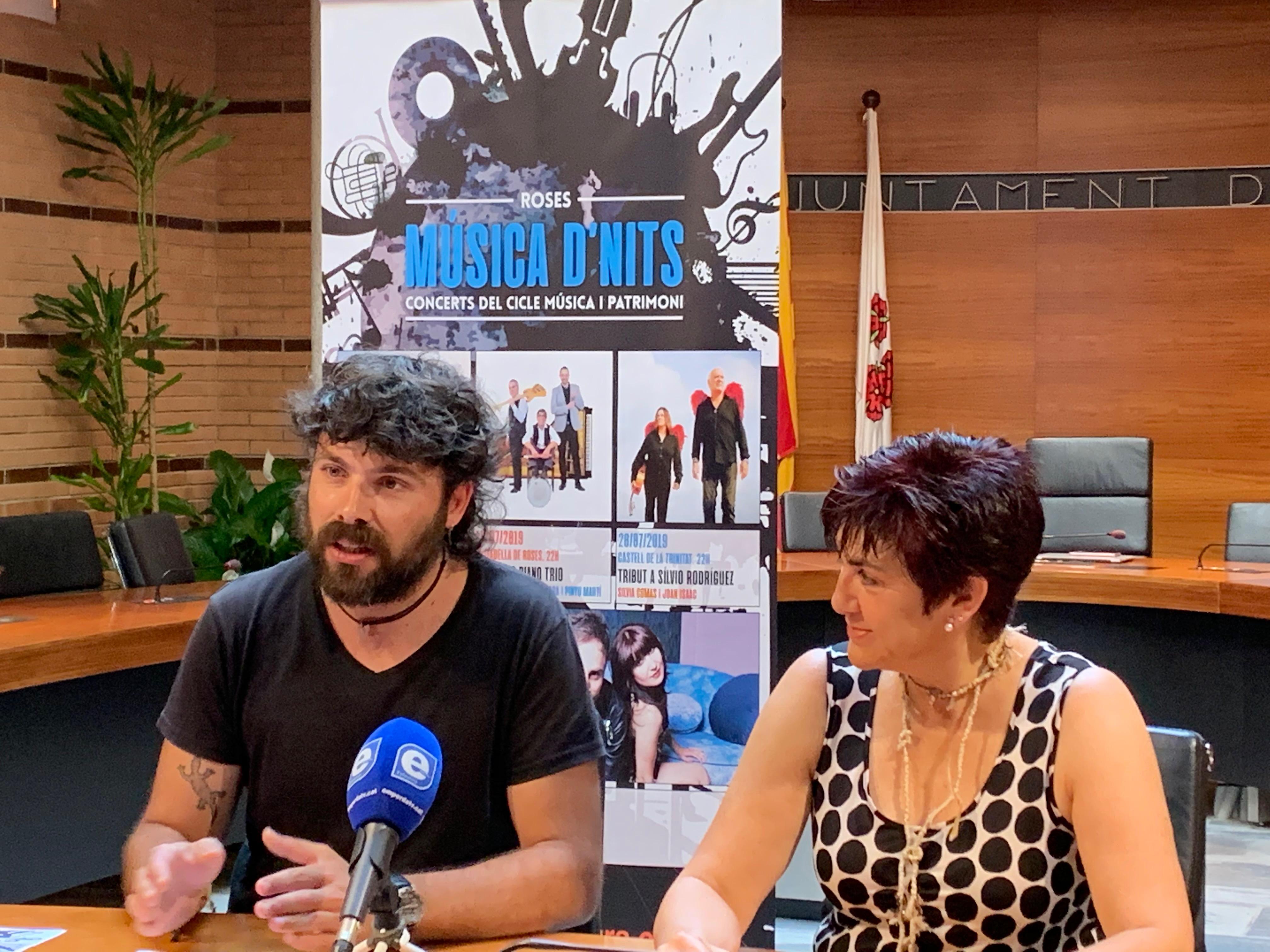 'Música D'Nits' concerts i patrimoni per a les nits d'estiu a Roses
