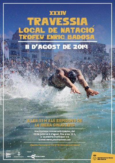 """XXXIV  Travessia Local de Natació """"Trofeu Enric Badosa"""""""