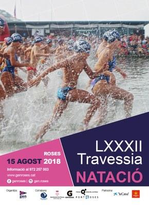 LXXXIII Travessia de natació al port de Roses