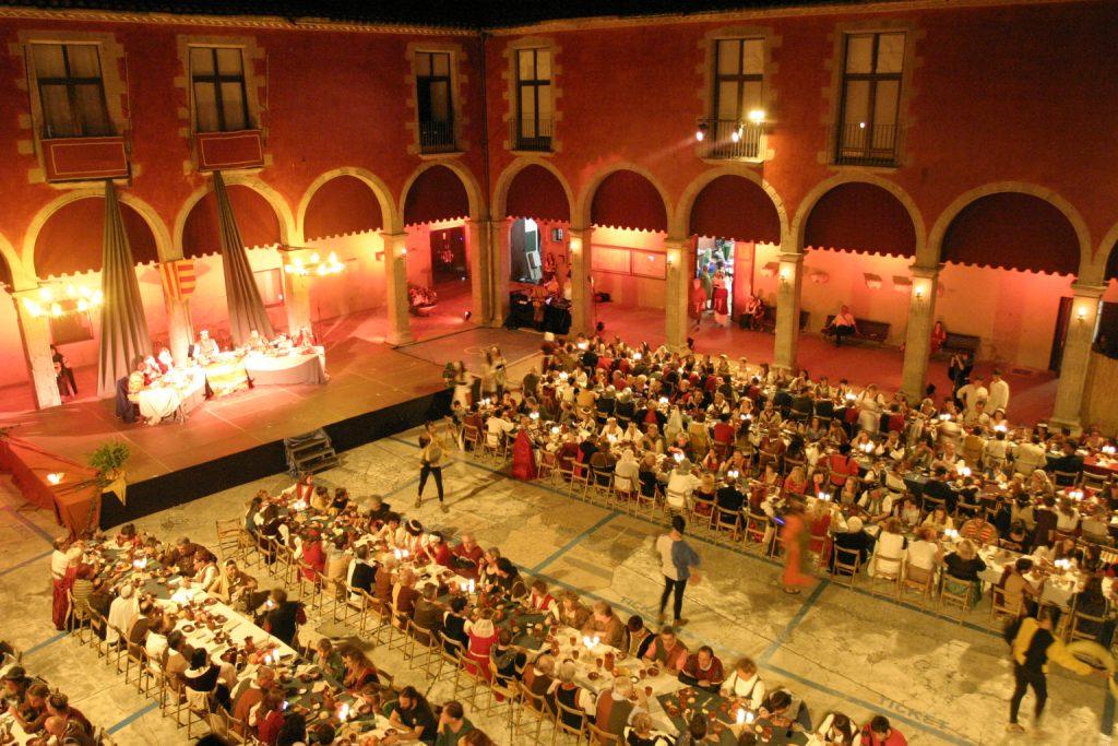 Vine al sopar medieval del XXIX Festival Terra de Trobadors