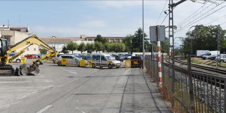 Comencen els treballs de la ruta cicloturística transfronterera BiciTransCat a Figueres