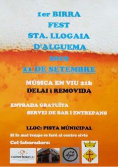 Birra Fest a Santa Llogaia d'Àlguema