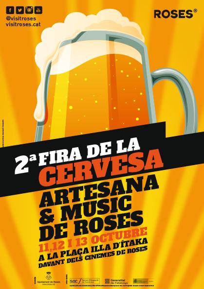Música en viu i cervesa artesana els dies 11, 12 i 13 d'octubre a Roses