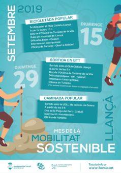 Mes de la Mobilitat Sostenible a LLanca 2019