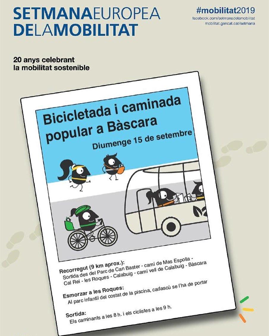 Mobilitat Sostenible a Bàscara