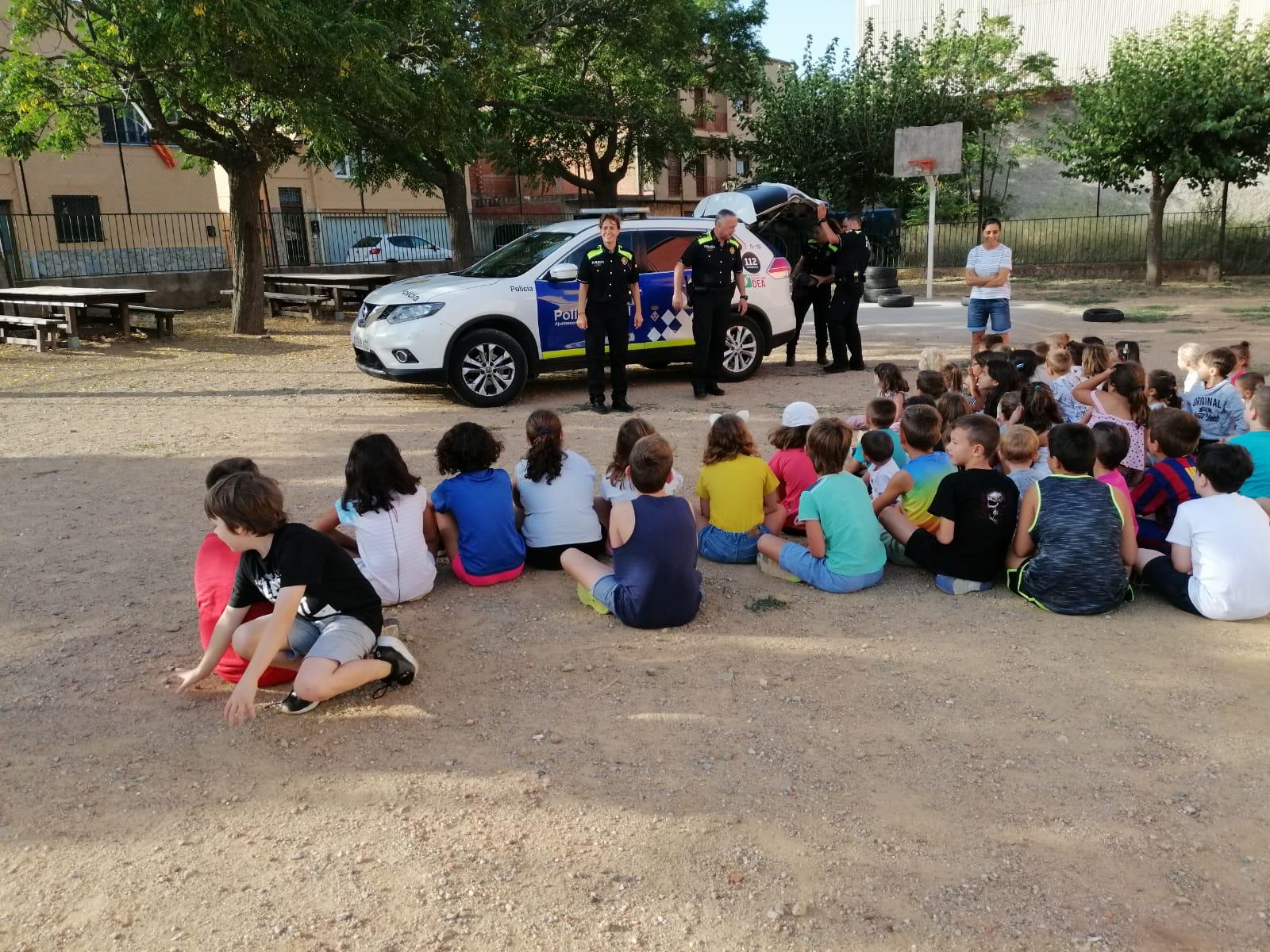 Noves activitats de la Policia Local de Roses per fomentar l'educació viària