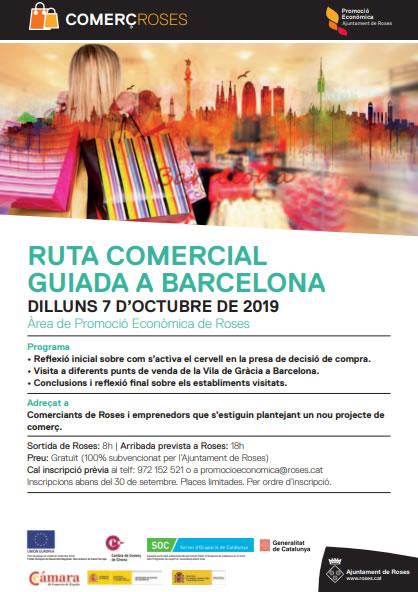 RUTA COMERCIAL GUIADA A BARCELONA