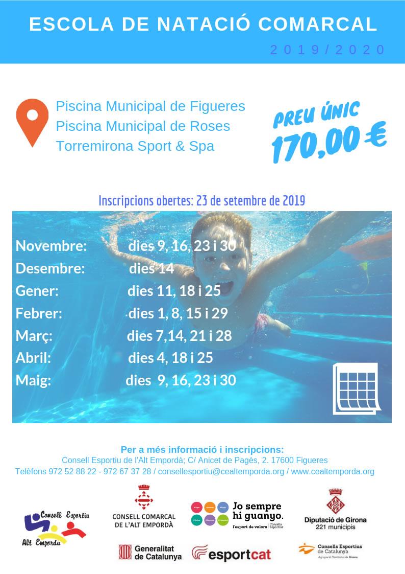 Escola de natació comarcal