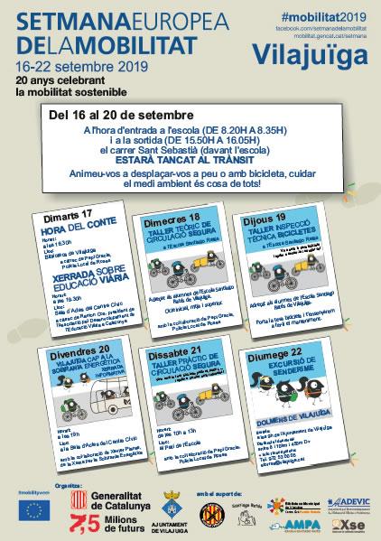 Vilajuïga celebra la Setmana de la Mobilitat amb un ampli calendari d'actes