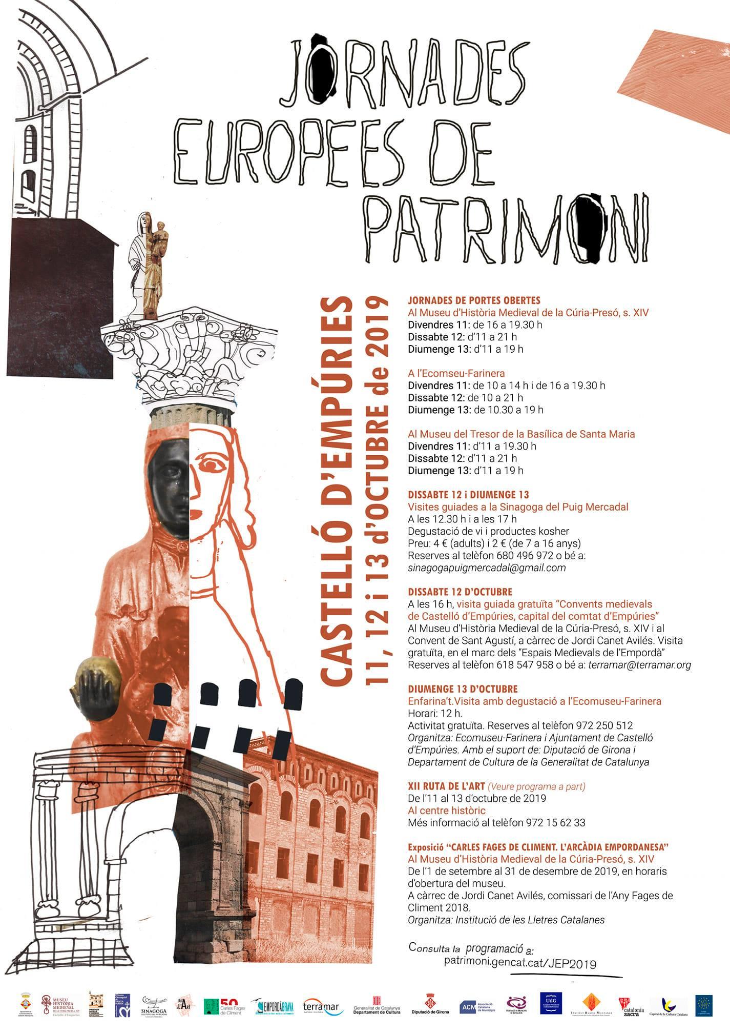 Jornades Europees de Patrimoni a Castelló d'Empúries