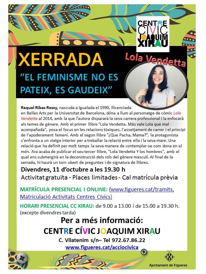 Xerrada sobre feminisme  a Figueres