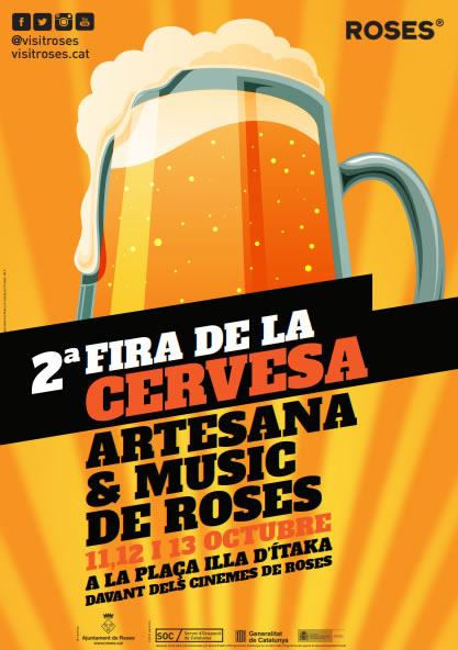 Fira de la Cervesa Artesana de Roses