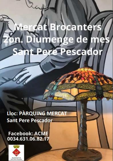 Mercat de Brocanters a Sant Pere Pescador