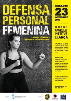 Defensa Personal Femenina a llançà