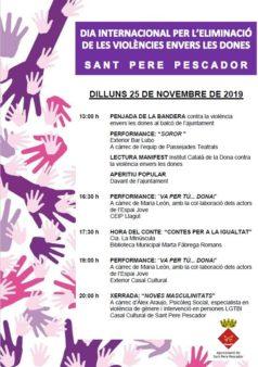 Dia internacional per l'eliminació de les violències envers les dones