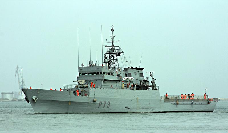 Anul·lada la visita del patruller de l'armada Espanyola a Roses