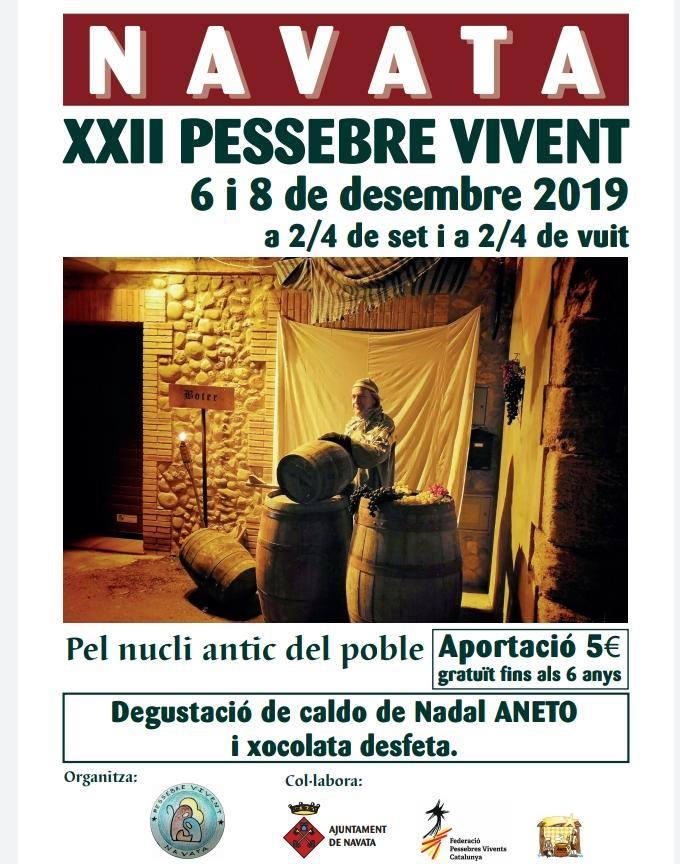 XXII Pessebre vivent a Navata