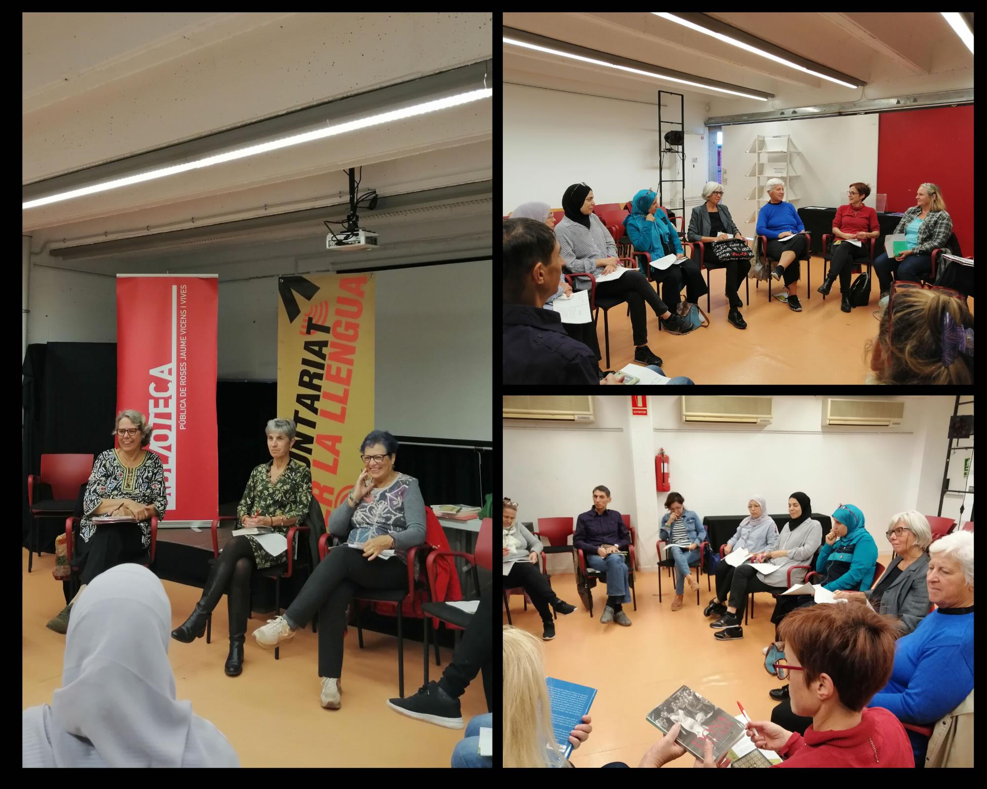 Inici del VIII Taller de lectura i conversa en català de Roses