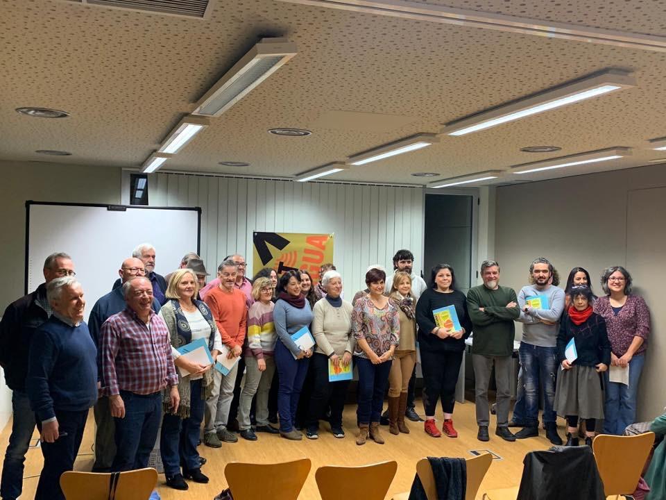 Presentació de les parelles lingüístiques d'una nova edició del Voluntariat per la llengua a Roses