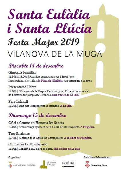 Vilanova de la Muga presenta un nou llibre sobre la història local per la Festa Major de Santa Eulàlia i Santa Llúcia