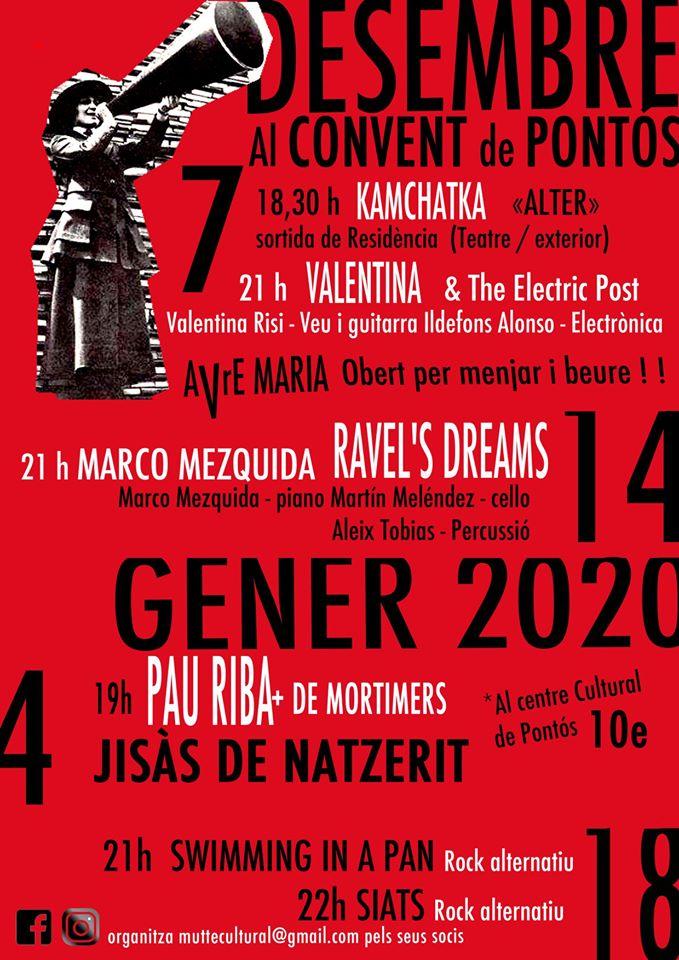 Activitats del centre cultural de Pontós