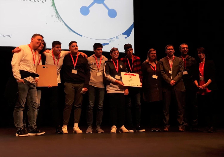 """L'Institut Cap Norfeu de Roses rep el Premi Inclusión, d'àmbit estatal, pel seu projecte """"Ecoteatre"""""""