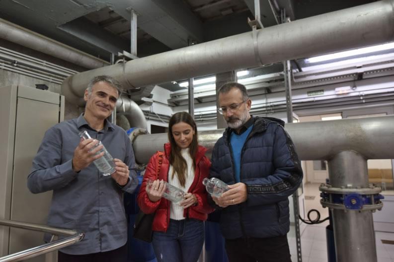 """Figueres crea l'ampolla """"Aigua de Figueres"""" per posar en valor la qualitat de l'aigua municipal"""