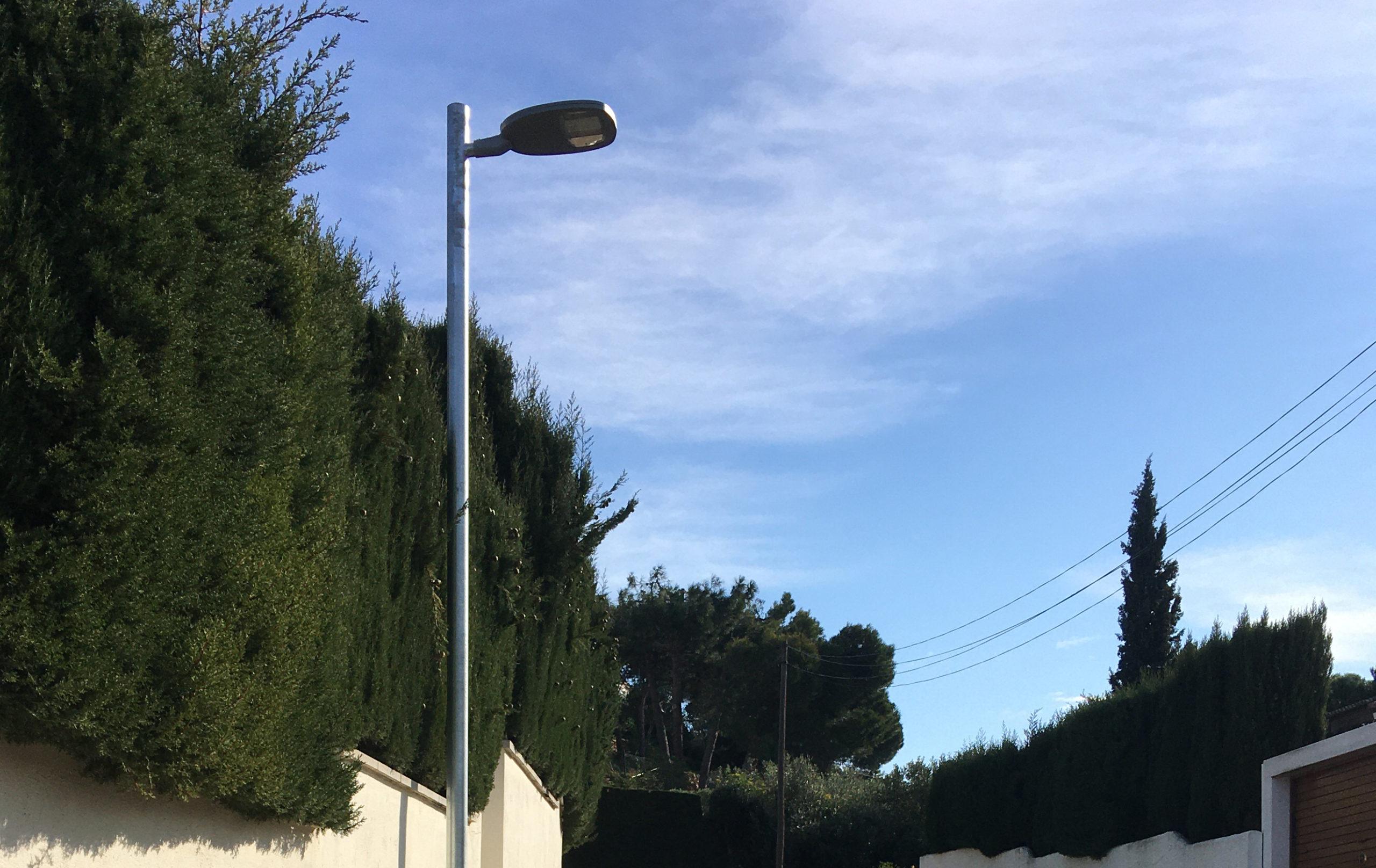 El nou enllumenat públic de la Sureda d'en Mairó suposarà un estalvi energètic d'un 35%