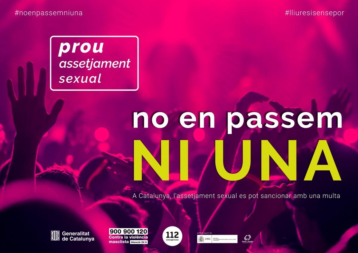 La Generalitat realitza enquestes telefòniques per a un estudi sobre violències sexuals a Catalunya