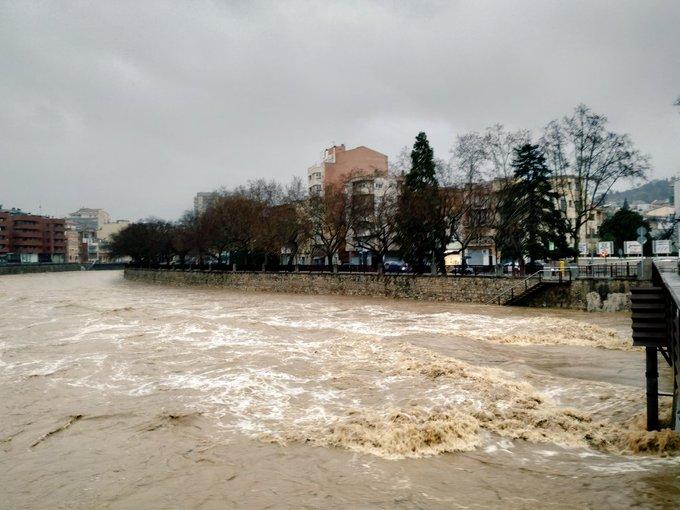 Activat a Girona la fase d'emergència del Pla de protecció civil municipal pel risc de desbordament de l'Onyar