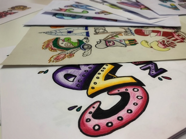 Selecció del dibuix que formarà part del cartell de Carnaval 2020