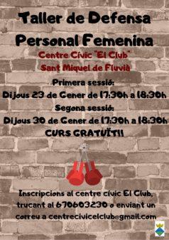 Taller-de-defensa-personal-femenina-a-Sant-Miquel-de-Fluvià