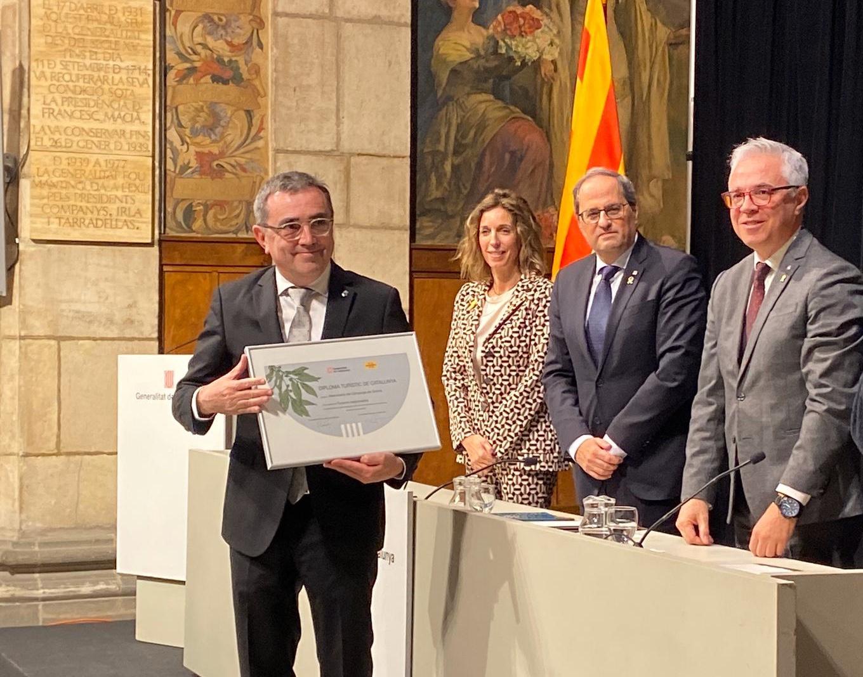 Els càmpings gironins reben el guardó de Turisme Responsable de la Generalitat