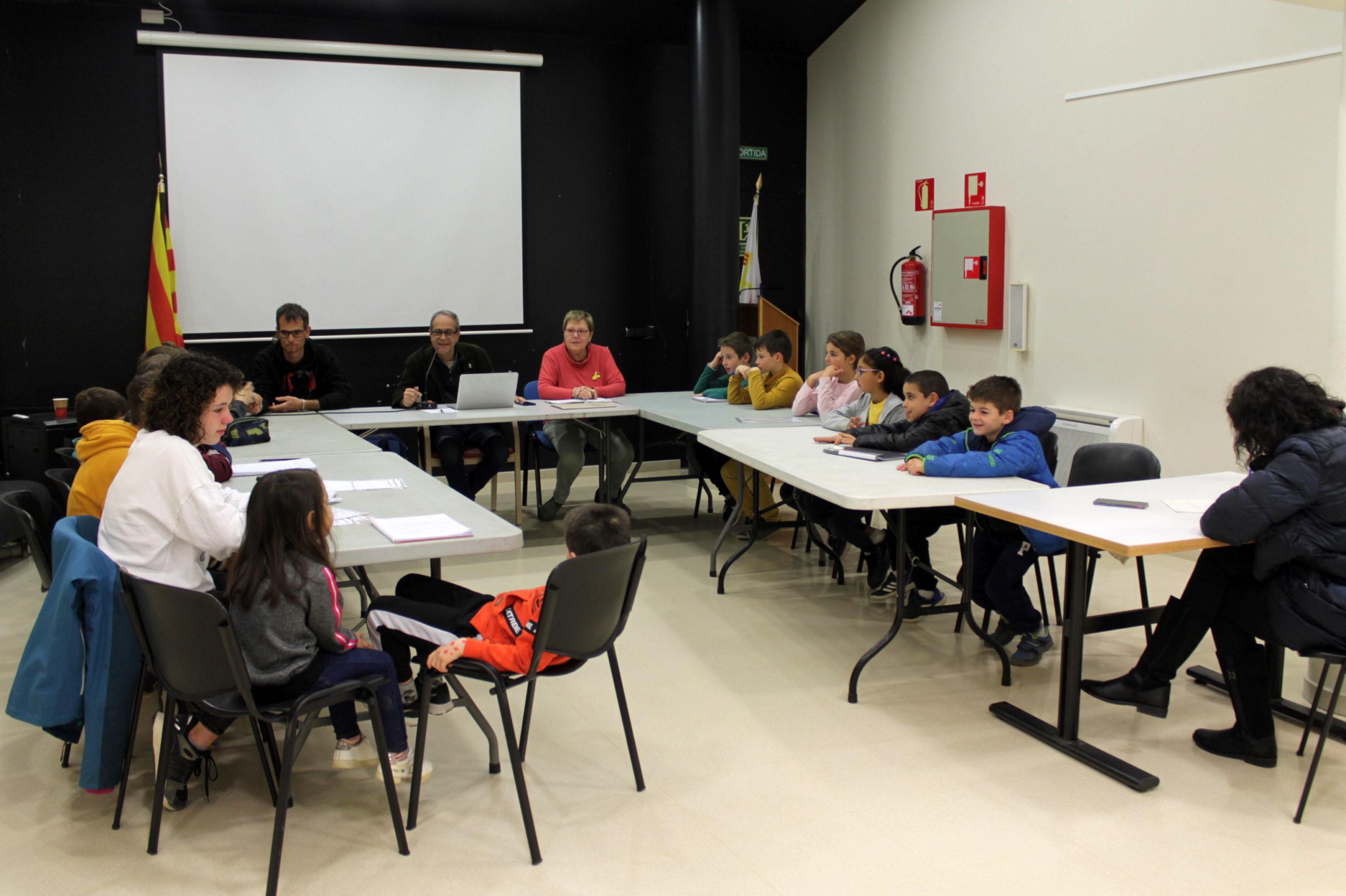 L'Ajuntament de Vilajuïga celebra amb èxit la primera edició del Consell d'Infants