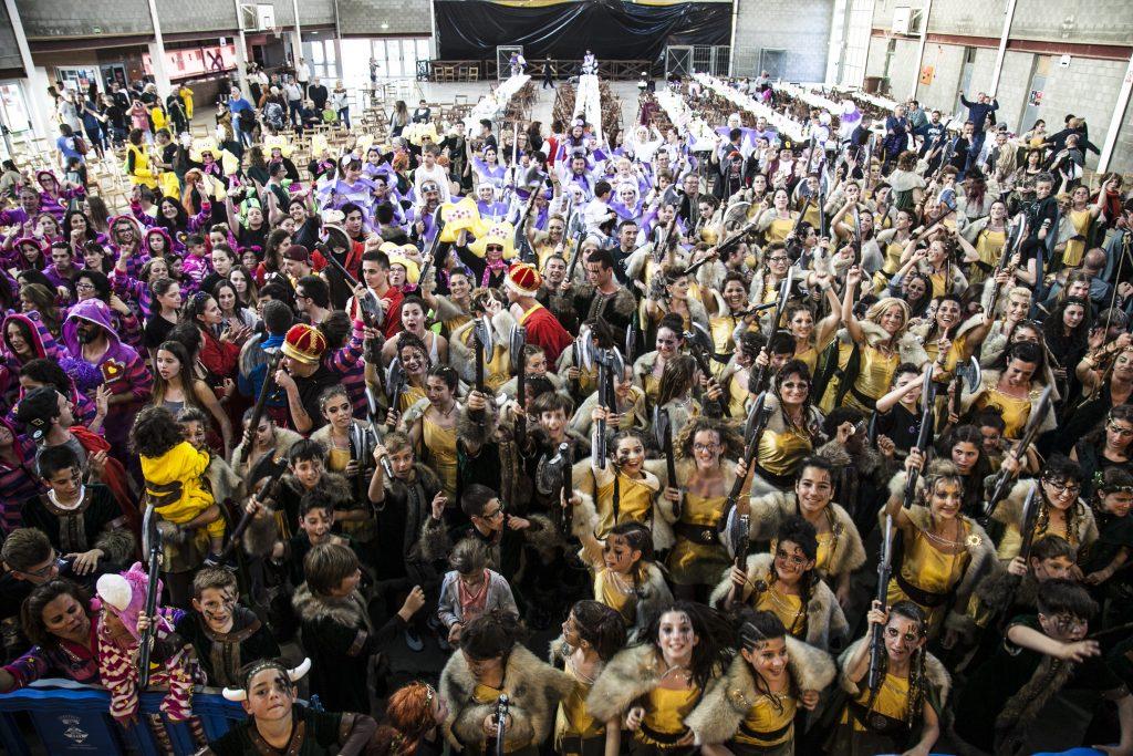 22 carrosses i 1.400 inscrits al Carnaval de Castelló i Empuriabrava