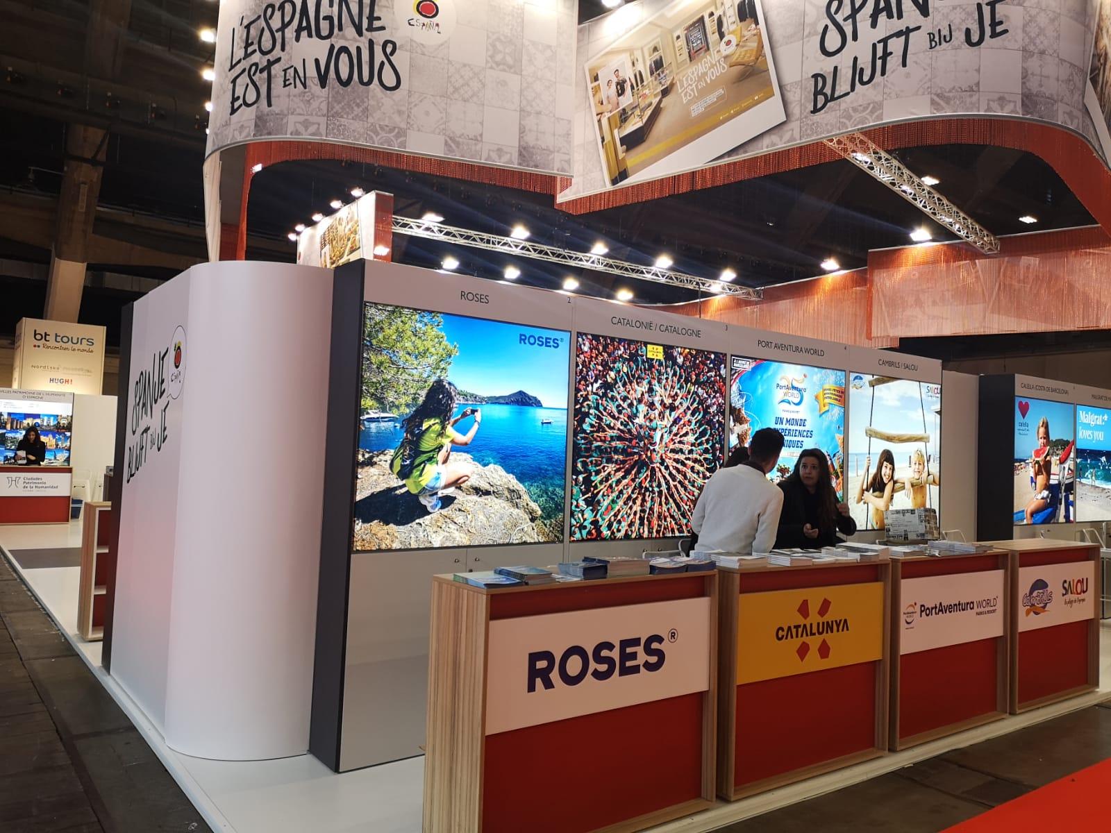 Roses es promociona a Brussel·les