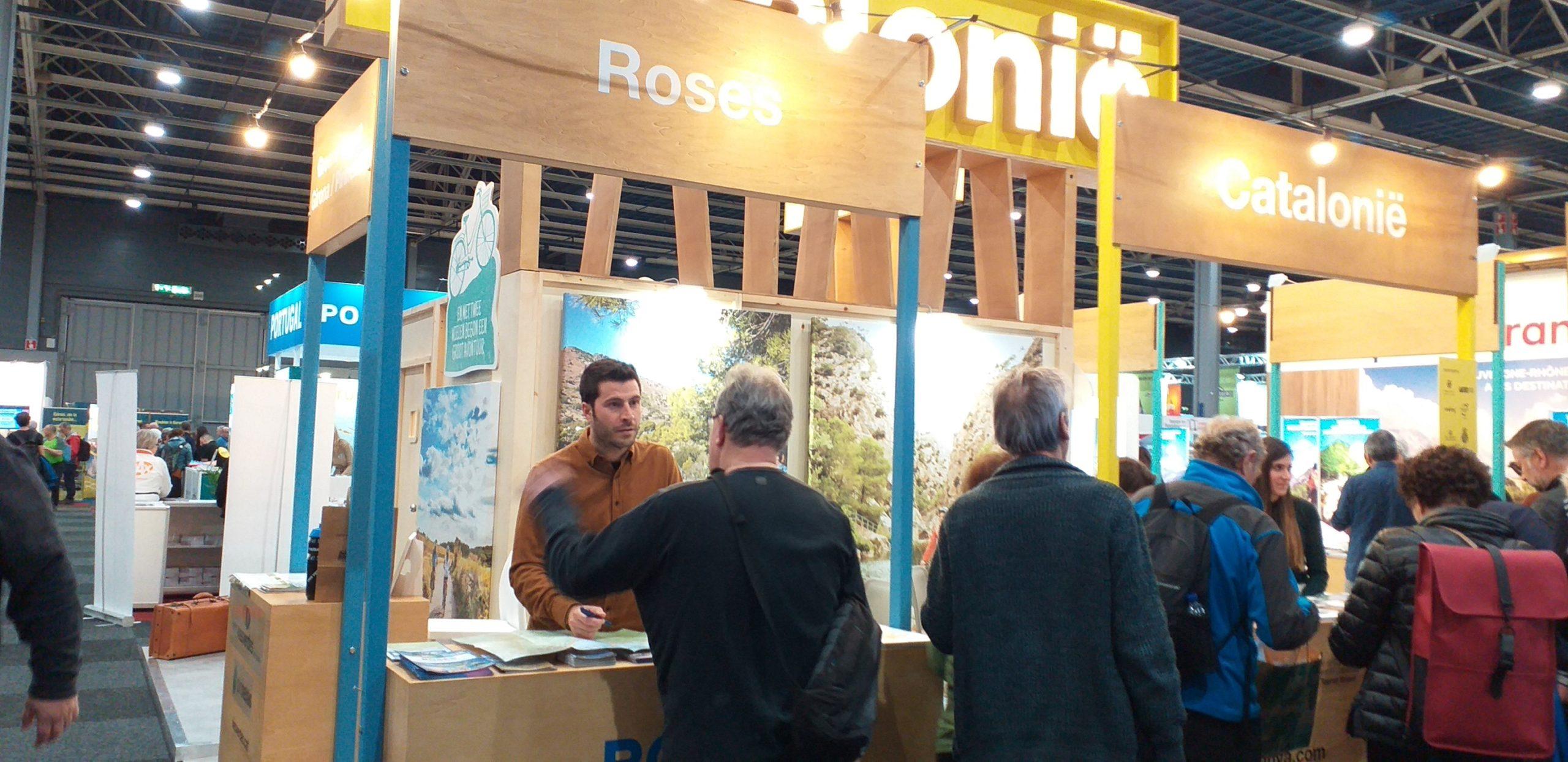 Turisme de Roses assisteix a dues fires turístiques europees per atreure turisme de natura i esportiu