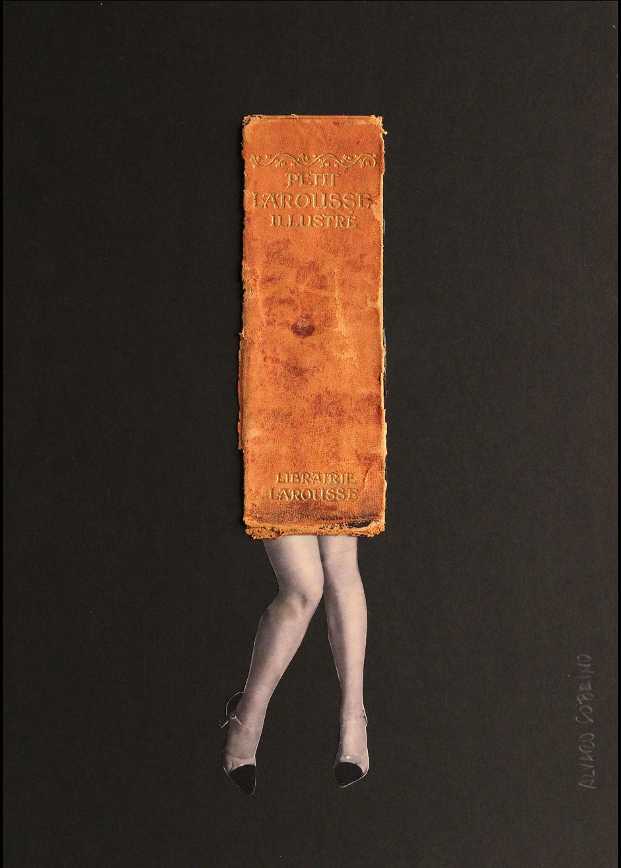 """Ca l'Anita inaugura """"Lletra, paper, tisores"""", un diàleg entre paraula i imatge amb la tècnica del collage"""